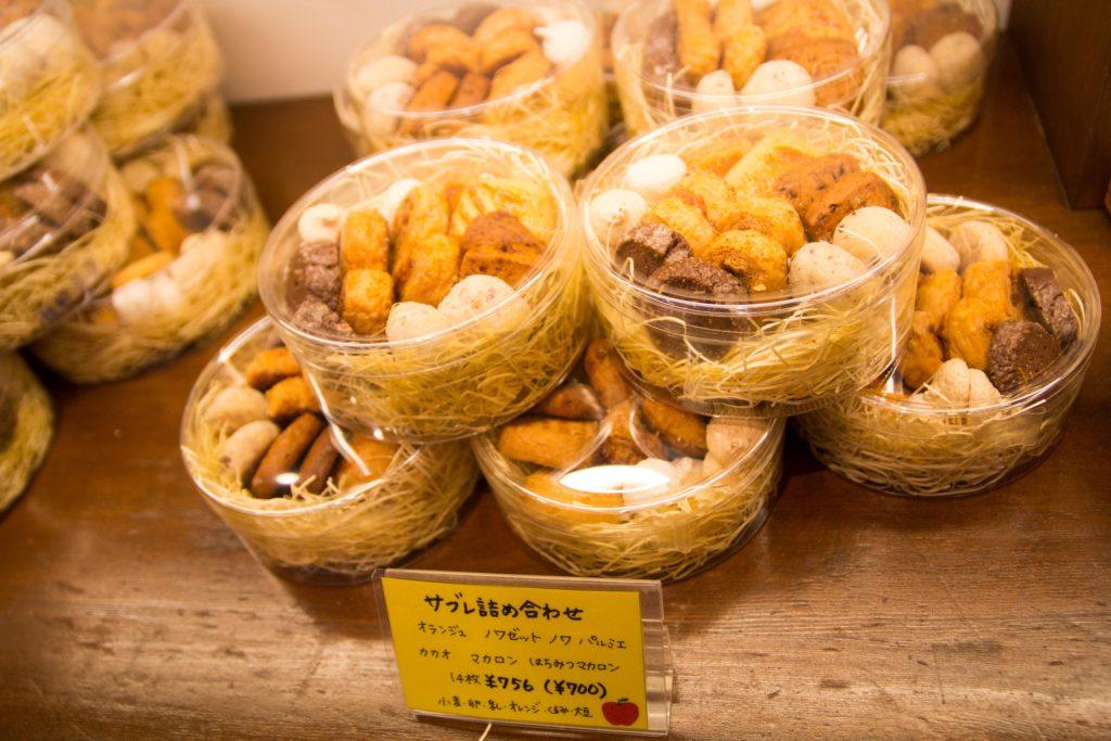 コムシノワの焼き菓子