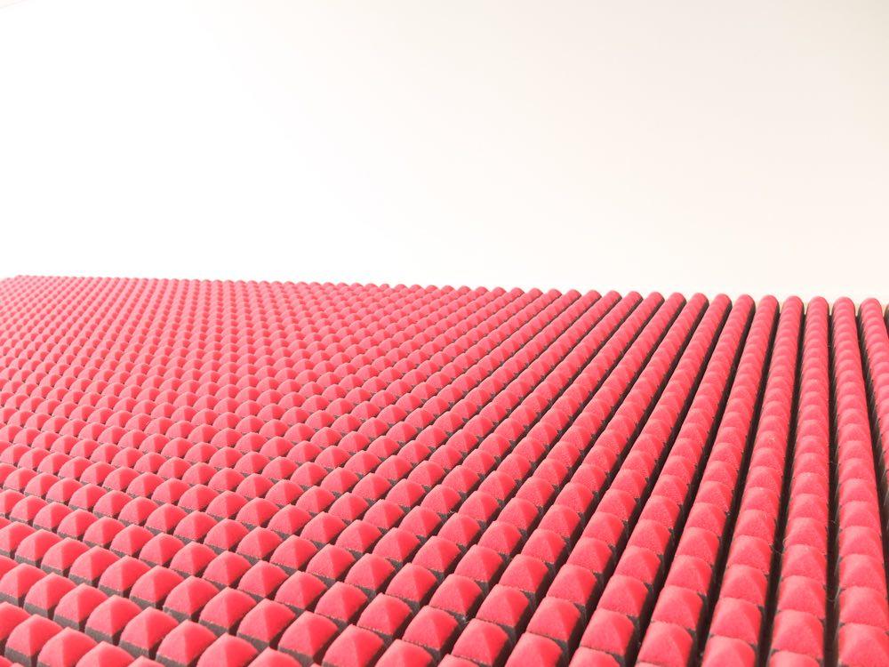 エアーSIの凸凹構造の写真