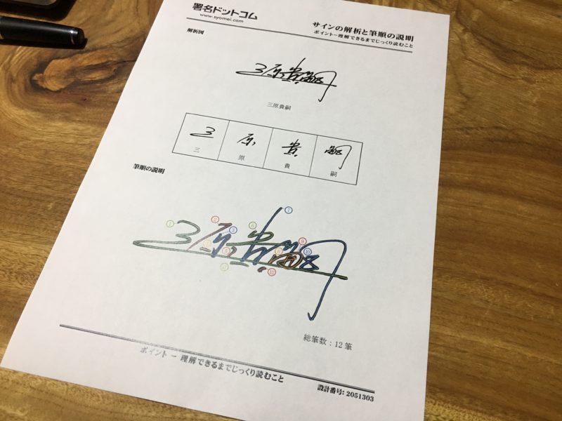 サイン練習キット画像3