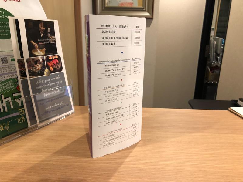京都宿泊税の案内