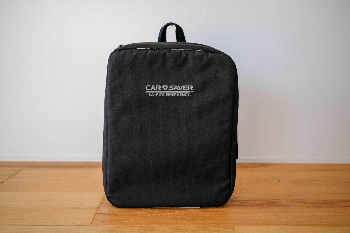 カーセーバーのバッグ1