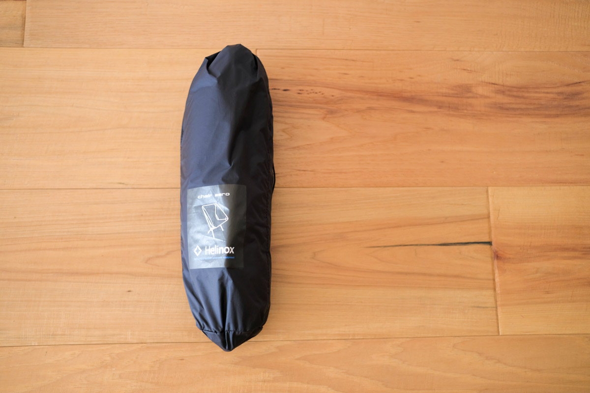 Helinox チェアゼロの外袋