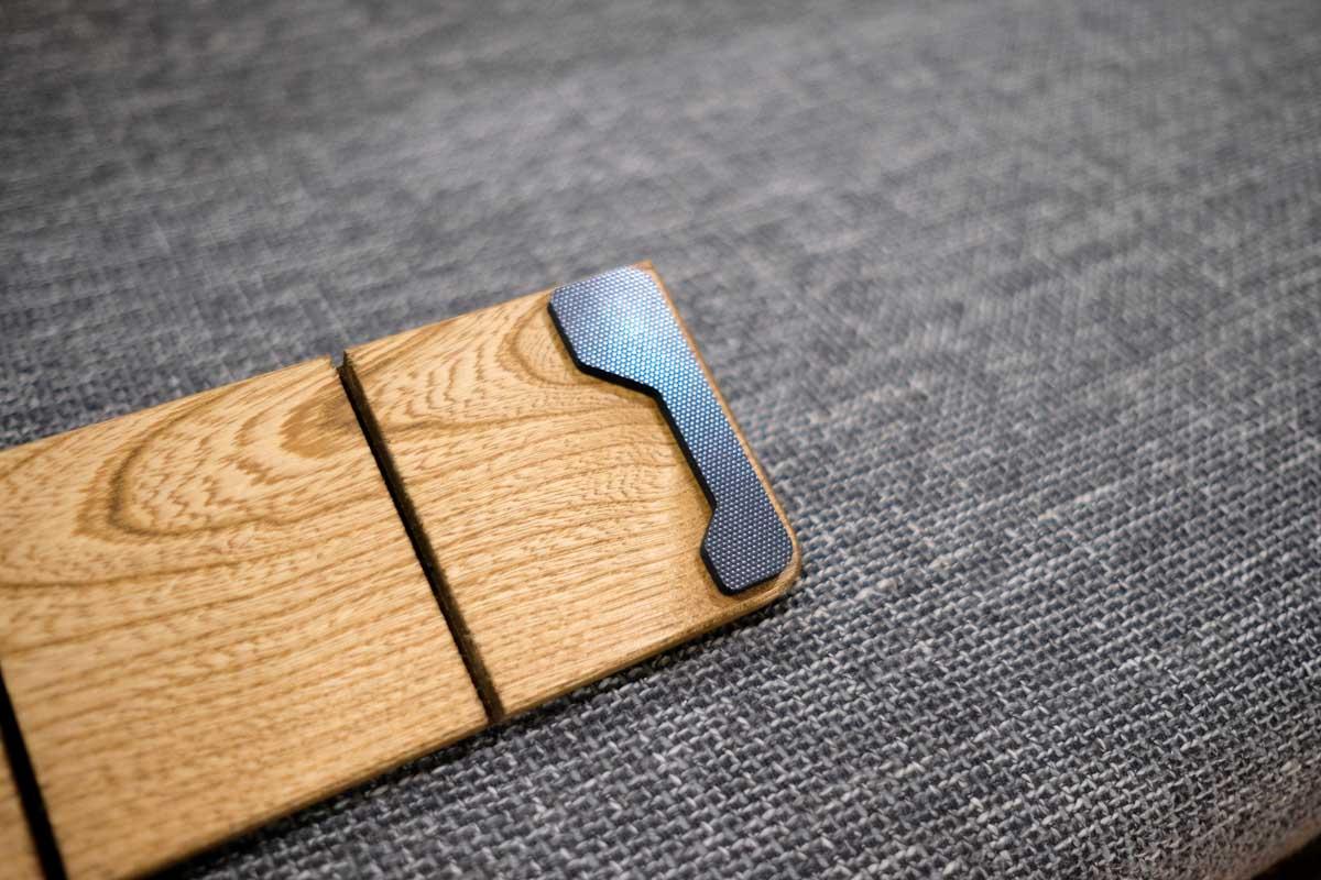 FILCO Genuine Wood Wrist Restのクッション材