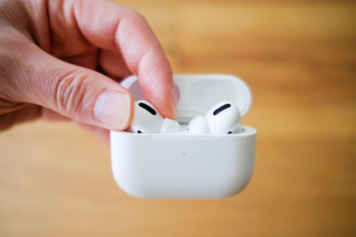 Airpods pro取り出し1