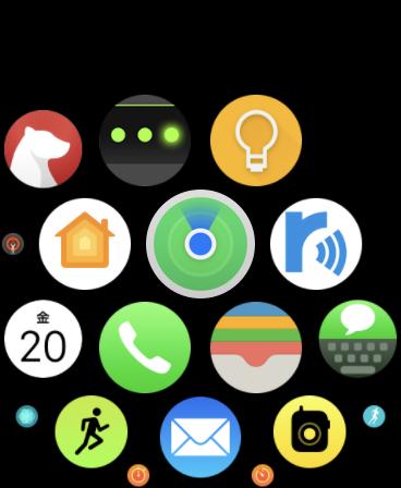 Apple Watchのgoogle keepのアイコン