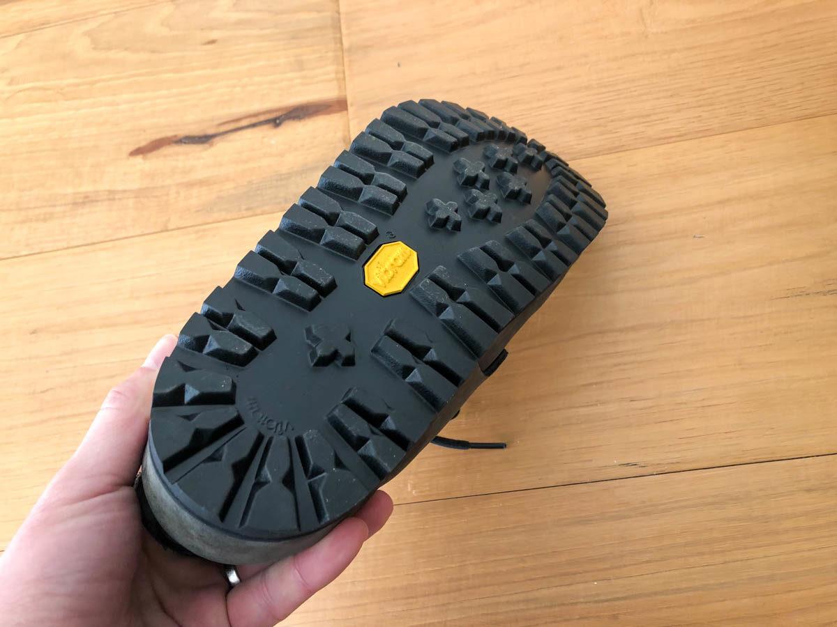 ビルケンシュトックのモンタナをビブラムでソール交換したものの靴底