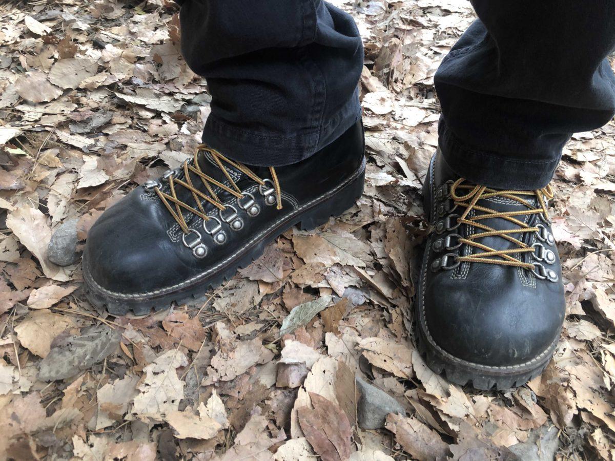ビブラム#100にソール交換したビルケンシュトックのオークランドで山道を歩いたところ